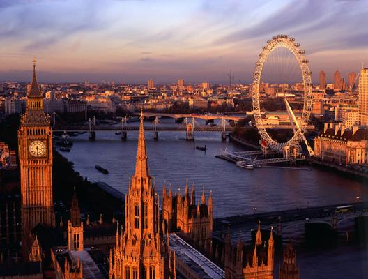 Parliament and London Eye